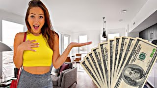 "GIVING MY GIRLFRIEND $1,000 EVERY TIME SHE SAYS ""I LOVE YOU""! *EMOTIONAL*"