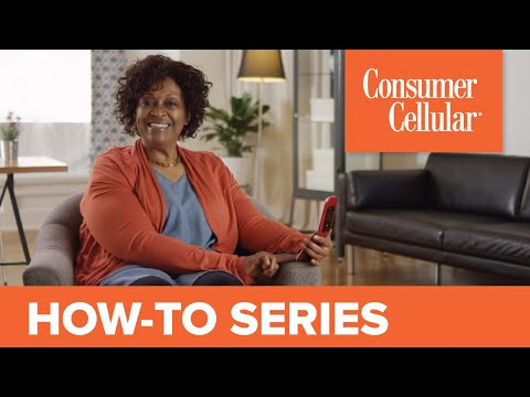 Doro 7050: Overview & Tour (1 of 7) | Consumer Cellular