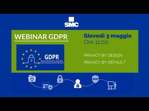 Webinar GDPR - Privacy by Design by Default