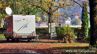 Reisebericht Camping Grein Oktober 2014 (Oberösterreich)