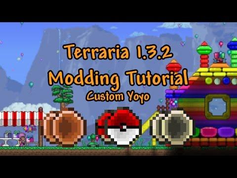 Terraria Modding Tutorial 1.3.2 - Custom Yoyo