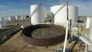 видео Монтаж резервуаров для нефтепродуктов