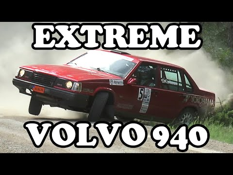 Extreme Volvo 940 Rallying! | Crashes & action