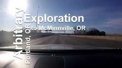 Portland, Oregon to McMinnville, Oregon