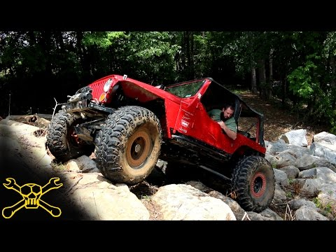 Lucky 7 Jeep Poker Run Action | Clemson 4 Wheel Center - YouTube