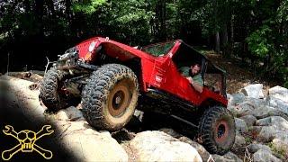 Lucky 7 Jeep Poker Run Action | Clemson 4 Wheel Center