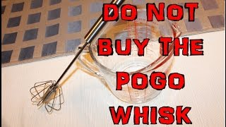 Do Not buy the Sonic Whisk or Miracle Whisk or Pogo Whisk Rotary whisk review