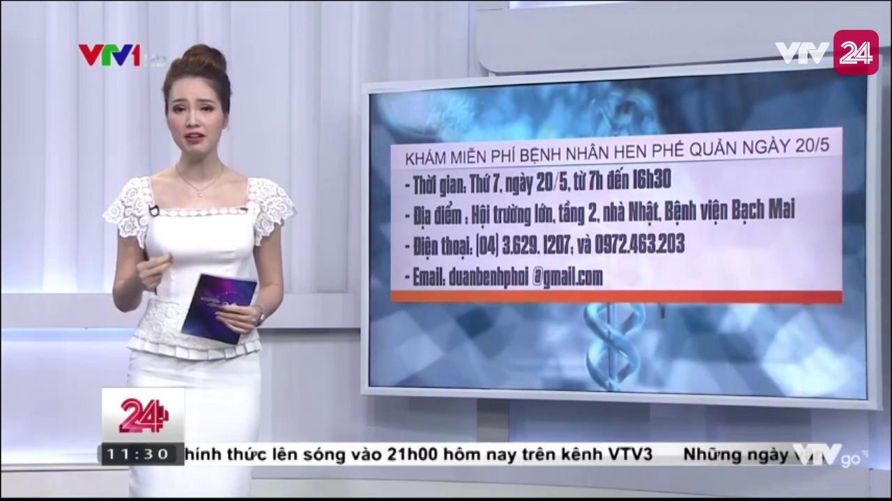 Bệnh Viện Bạch Mai Khám Và Cấp Thuốc Miễn Phí Cho Bệnh Nhân Hen Phế Quản – Tin Tức VTV24