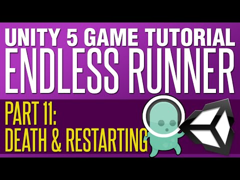 Unity Endless Runner Tutorial #11 - Death & Restarting