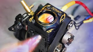 Tiny See-Thru Engine - In 4k Slow Motion