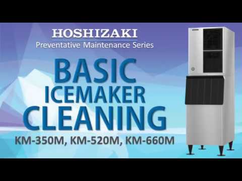 Hoshizaki Basic Ice Maker Cleaning