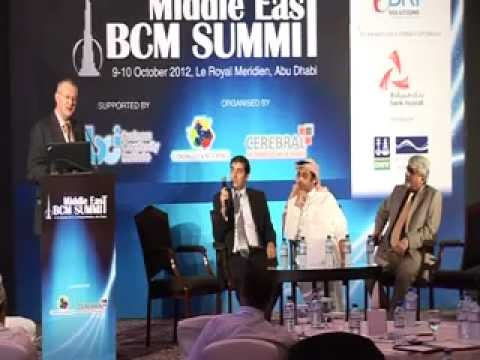 Panel Discussion -BCM trends in the Region