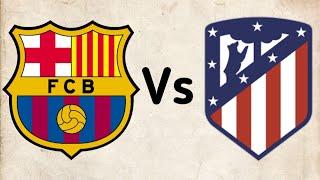 😐مباراة برشلونة واتلتيكو مدريد 2-2 🔥اخطاء تحكميه و اللقب يبتعد عن البرسا