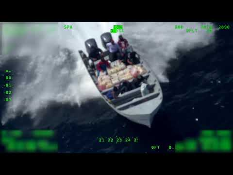 U.S. Coast Guard intercepts 2,300 lbs of Cocaine in Eastern Pacific Ocean