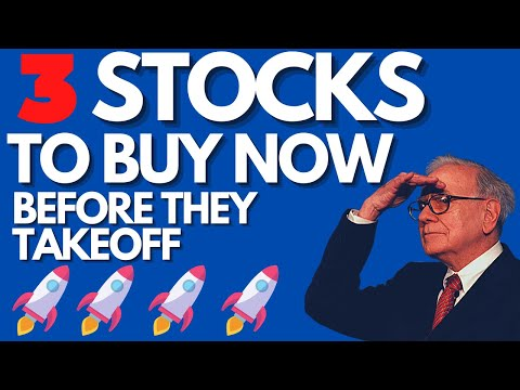 3 Best Stocks to Buy Now Before They Takeoff! 🚀🚀🚀