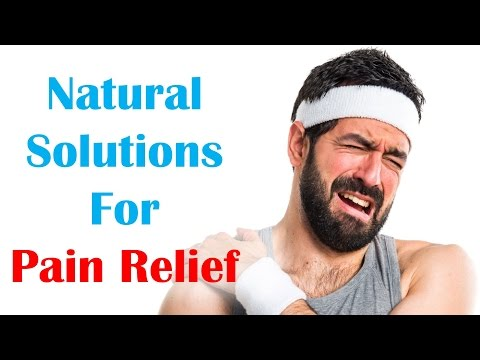 Natural Solutions for Pain Relief