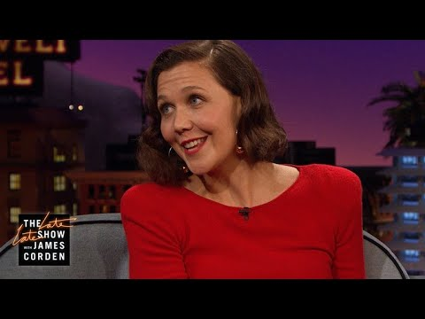 Maggie Gyllenhaal Visited a Porn Set for Research