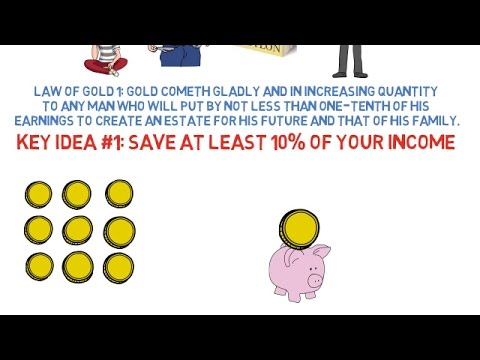 The 5 Laws of Gold - The Richest Man in Babylon