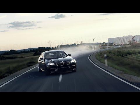 BMW M5 F10 Crazy City Drift (Powerslides)