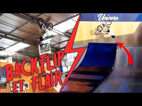 NOTRE SEJOUR AU HANGAR DE NANTES EN BMX + minis clips au skatepark Unicorn de Vodk