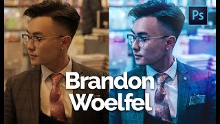 how to edit like brandon woelfel on iphone