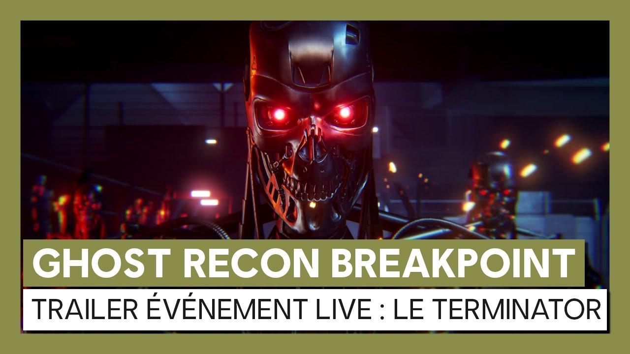 Ghost Recon Breakpoint - Trailer événement TerminatorVOSTFR