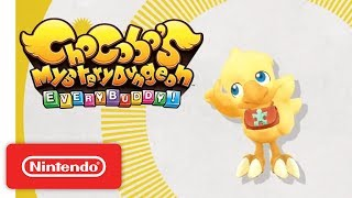 Chocobo's Mystery Dungeon EVERY BUDDY! - Gameplay Trailer - Nintendo Switch