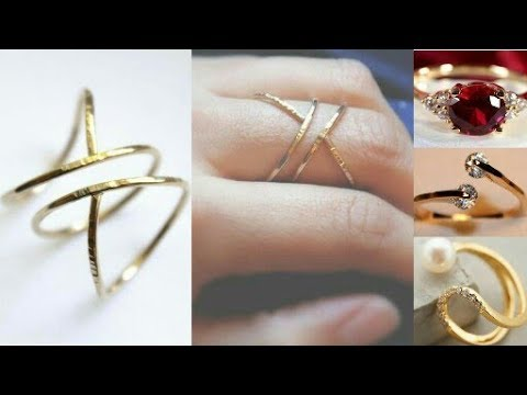 daily wear gold ring design ideaslatest gold ring designjewellery designgold ringbeautiful you - Jewelry Design Ideas