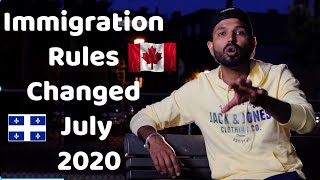 Quebec,Canada Immigration Rules Changed July 2020 | IELTS Centres Open| Book Now