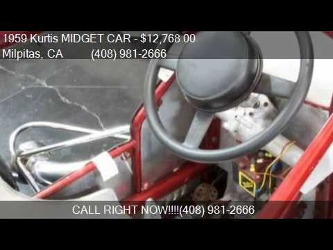 1959 Kurtis MIDGET CAR  for sale in Milpitas, CA 95035 at NB