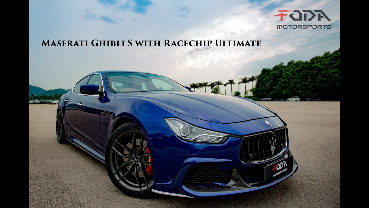 Maserati Ghibli S Q4 >> 【Maserati Ghibli powered by RaceChip Ultimate】by Foda ...
