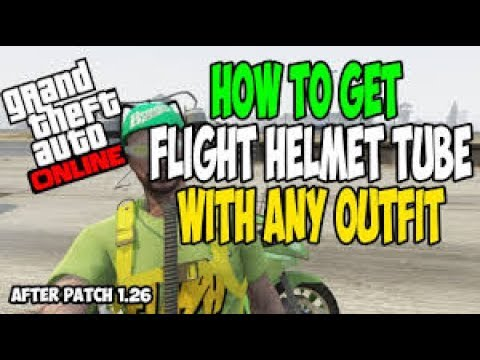 GTA 5 Online - How to Get the Flight Suit Tube/Hose on Any Outfit After 1.40