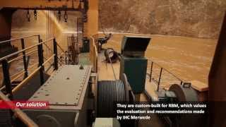 IHC Merwede mining dredgers and separation plants in South Africa