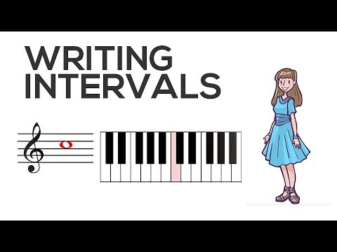 Writing Intervals | Music Theory | Video
