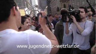 Pierre Vogel in Frankfurt: Sabri schlägt wieder zu! RTL-Reporter blamiert!