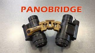 Noisefighters PANOBRIDGE Dual PVS-14 Bridge with Adjustable FOV