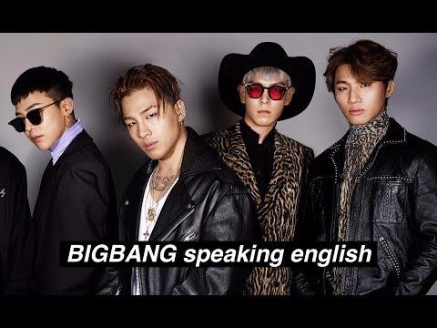 Bigbang Speaking English