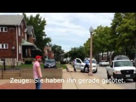 Handy Video zeigt tödliche Schüsse auf Powell in Ferguson