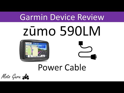 Zumo 590LM Mounting Cradle walk through and new features ... on
