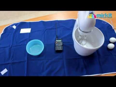 Сравнение рации Baofeng UV-5R c миксером Philips HR-1565