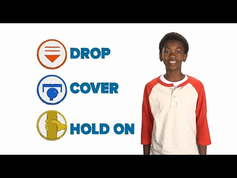 Kids Earthquake Safety - Disaster Dodgers