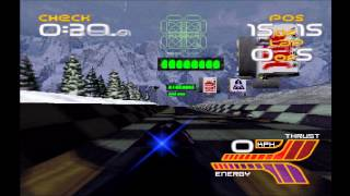 WipEout XL (WipEout 2097) - Phantom Tournament Part 1