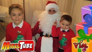 NocheBuena y Regalos de Navidad 🎁 con Papa Noel 🎅 en MikelTube Vlog.