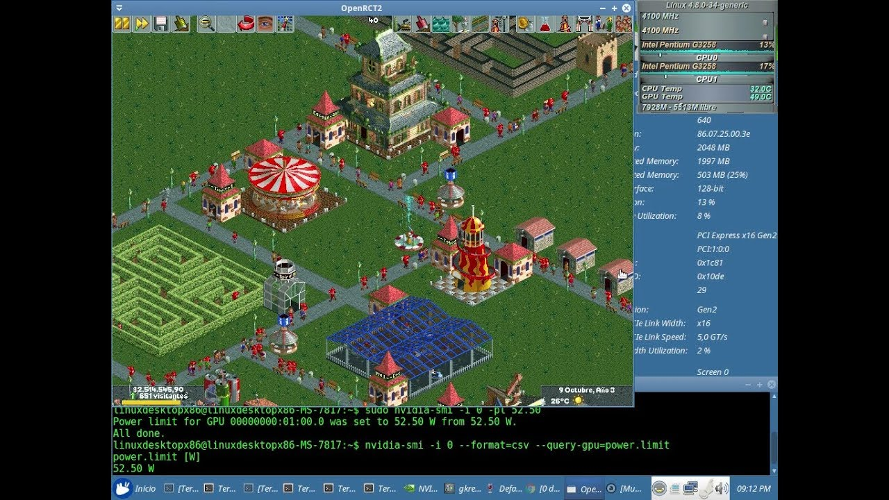 Openrct2 linux