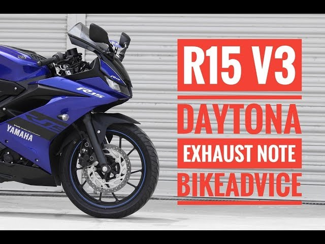 2018 Yamaha YZF-R15 V3 Review: FIRST RIDE! | BikeAdvice in