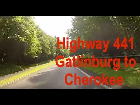 Hwy 441 Leaving Gatlinburg to Cherokee