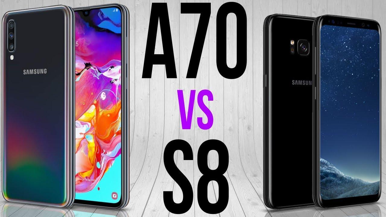 A70 Vs S8 Comparativo Youtube