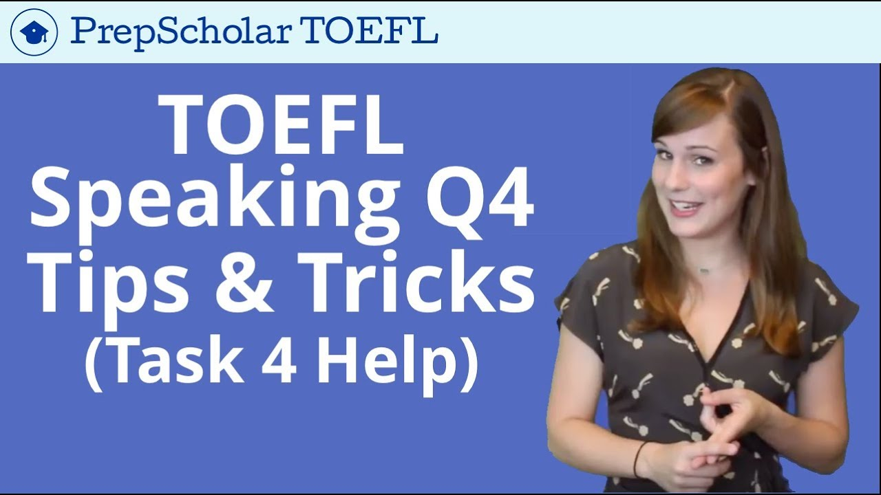 Integrated Speaking TOEFL Study Guide: Practice and Tips
