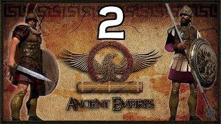 Scipio Africanus Surrounded - Ancient Empire Total War Rome Campaign #2