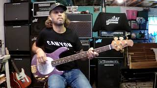 Last Child - Aerosmith (Tom Hamilton) bass cover
